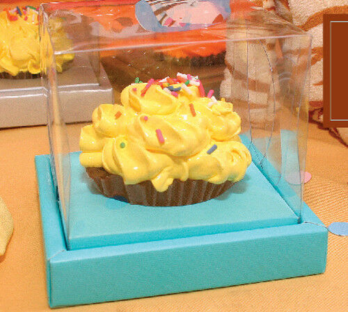 Clear Top Single Cupcake Boxes, 20 sets Favor Gift Party ...