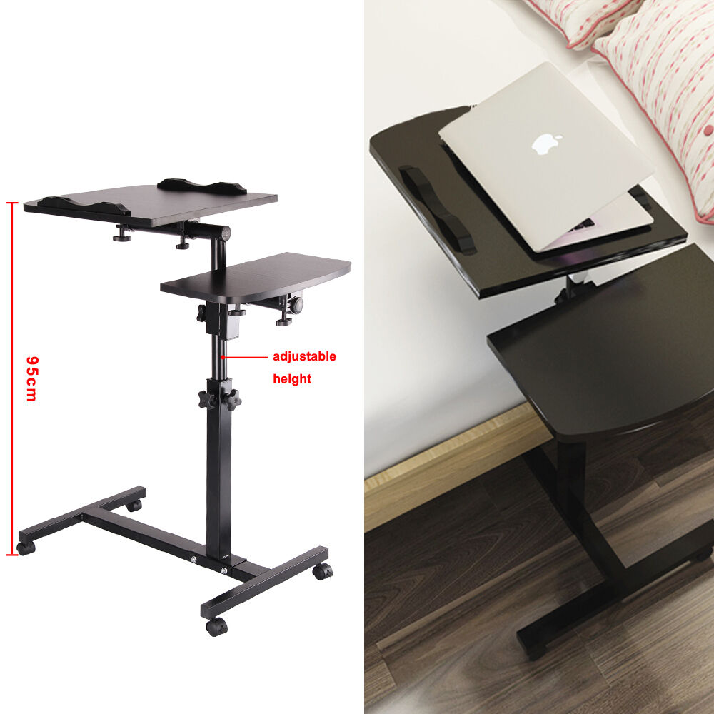 Adjustable Portable Laptop Lazy Table Stand Lap Sofa Bed