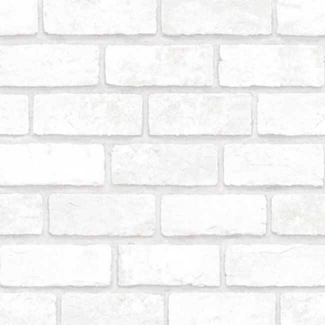 Light Grey Brick Look Contact Paper Peel And Stick