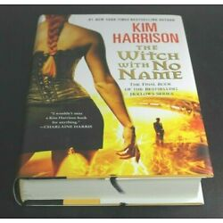 THE WITCH WITH NO NAME by Kim Harrison  [Hardcover]  ^  NEW ^