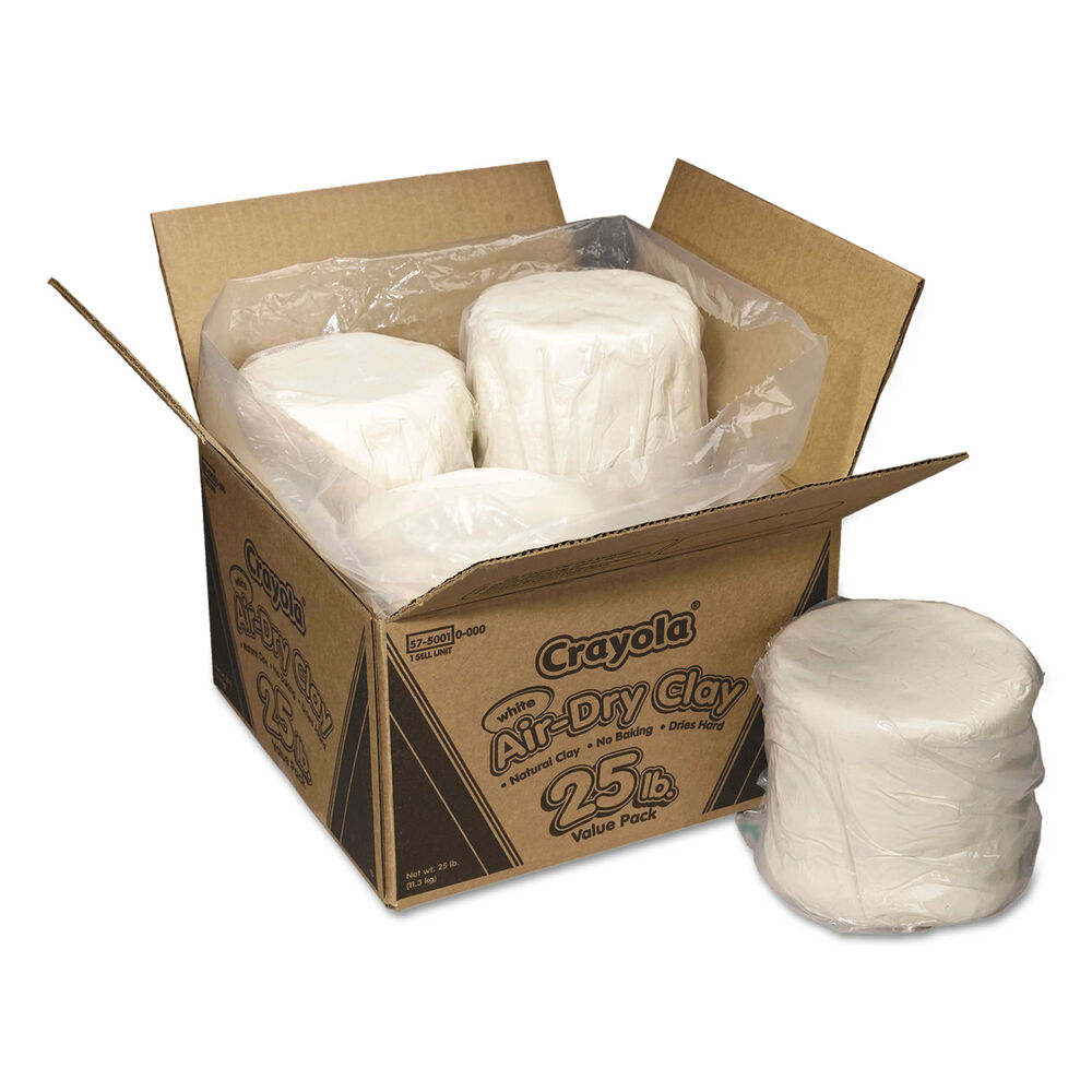 25 White Bathroom Ideas Design Pictures: Crayola Air-Dry Clay White 25 Lbs 575001
