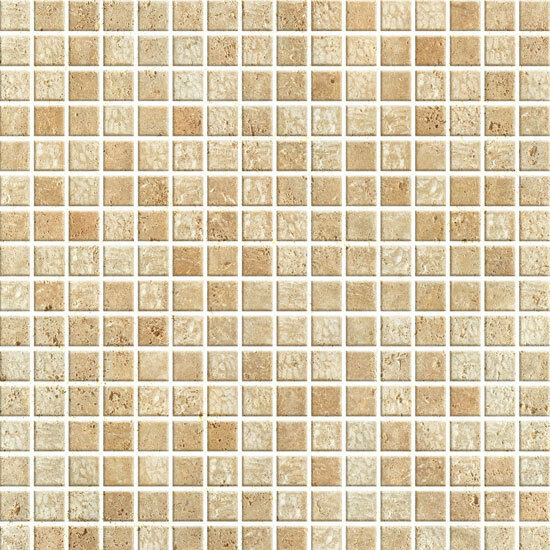 brown mosaic tile look contact paper self adhesive wallpaper vinyl wallcovering ebay. Black Bedroom Furniture Sets. Home Design Ideas
