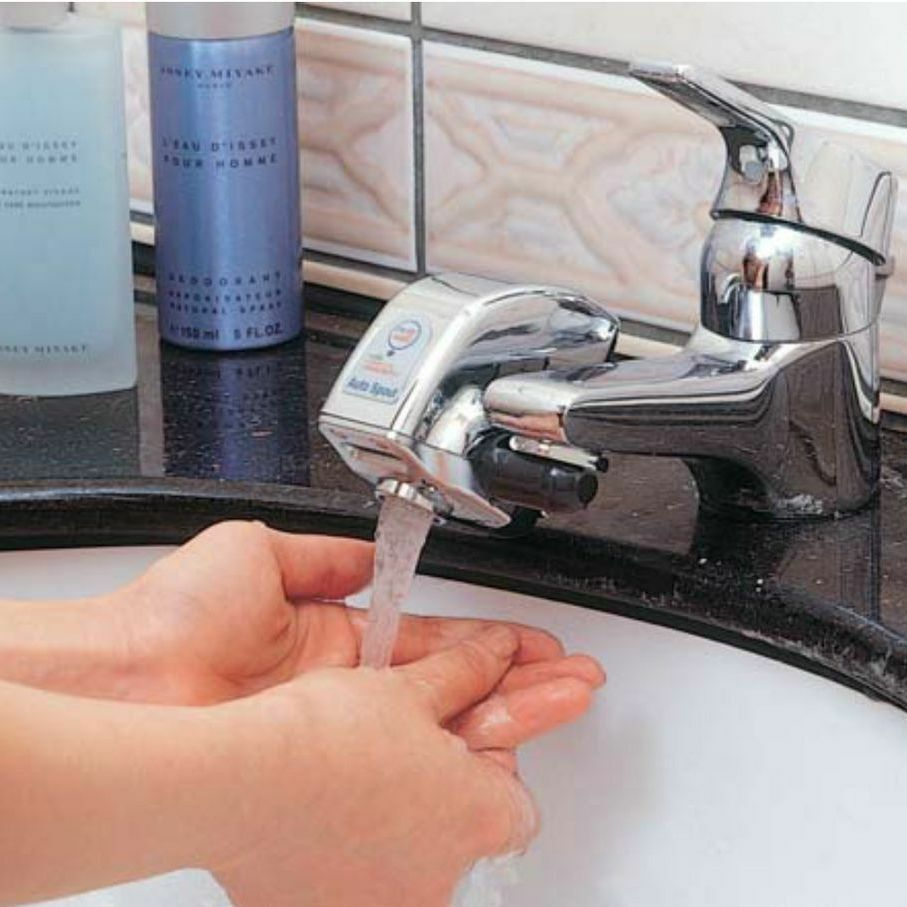 Auto Spout Water Saving Sensor New Model Faucet Tap Hands Free Automatic Etf Y Z Ebay