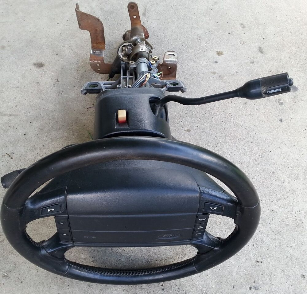 93 94-96 Ford F150 F250 BRONCO STEERING COLUMN FORD ...
