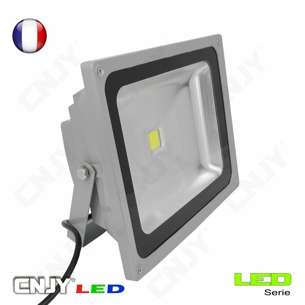 projecteur spot led cnjy exterieur ce ip65 smd 220v secteur maison jardin garage ebay. Black Bedroom Furniture Sets. Home Design Ideas