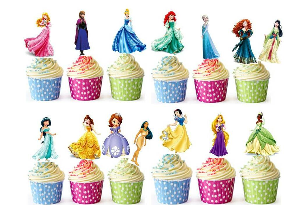 wedding cake toppers disney uk 28 disney princess edible cup cake toppers wafer 26451