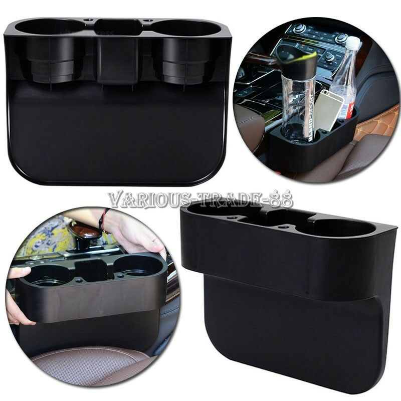 new universal cup drink food seat wedge holder car auto truck mount storage tray ebay. Black Bedroom Furniture Sets. Home Design Ideas