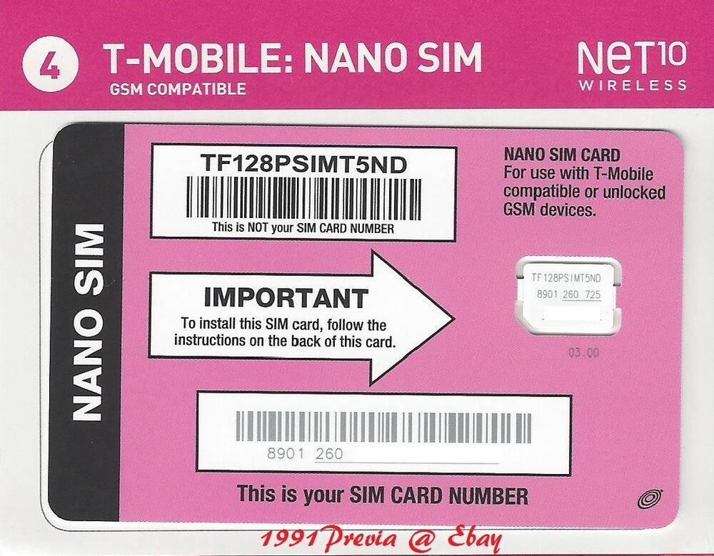 T-MOBILE Compatible GSM SIM Card. Use your own compatible or unlocked GSM LTE phone on America's most dependable 4G LTE networks. Bundle with an Airtime Card to complete your activation.