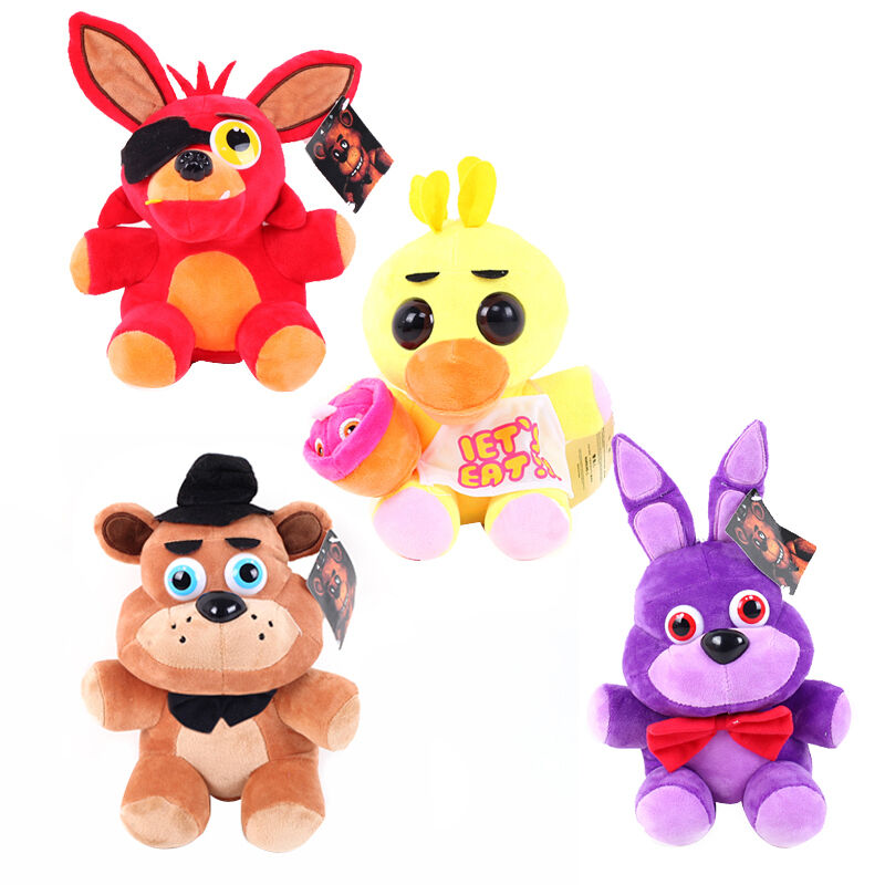 Fnaf five nights at freddy s plushie toy plush bear foxy bonnie chica