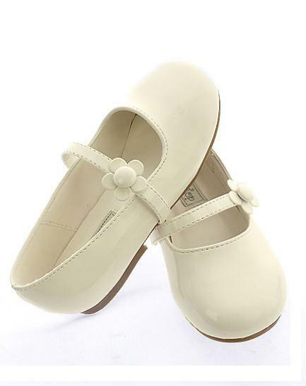Ivory Flower Shoes Flats