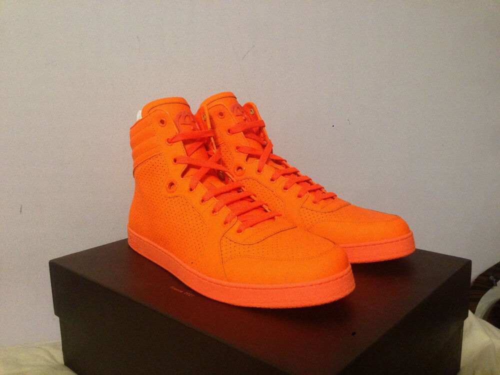 Orange Top Mens Shoes