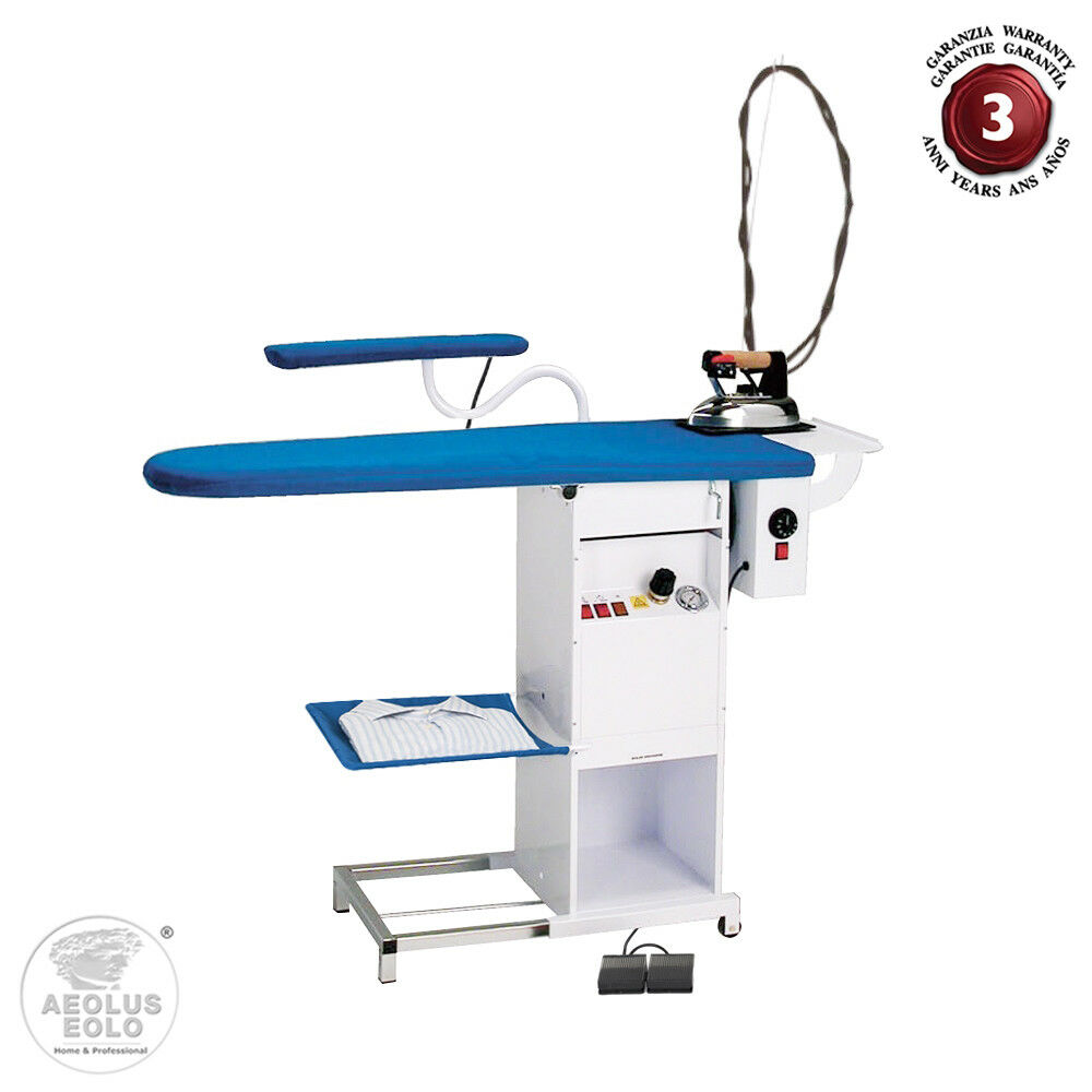 Electric Ironing Board ~ Eolo professional ironing board with steam boiler electric