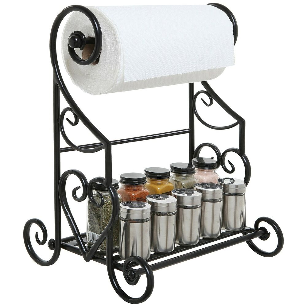 Iron Toilet Paper Stand