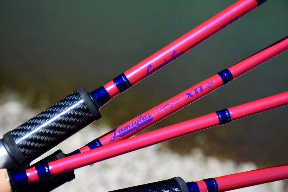 New pink lamiglas fishing rod 4 models to pick from ebay for Lamiglas fishing rods