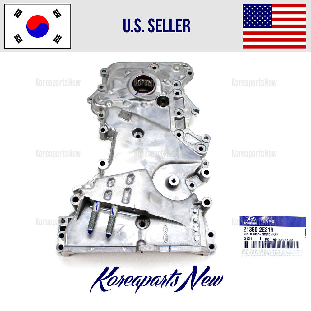 Timing Chain Front Cover 213502e310 Hyundai Tucson Kia