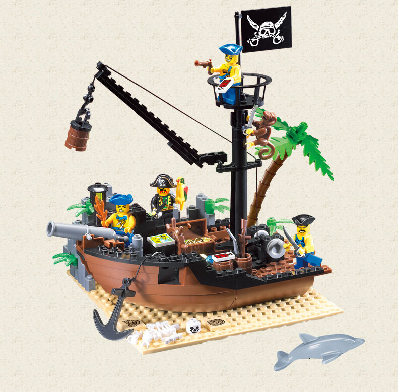 Toy Pirate Lego : Eg pirates of the caribbean series lego compatible