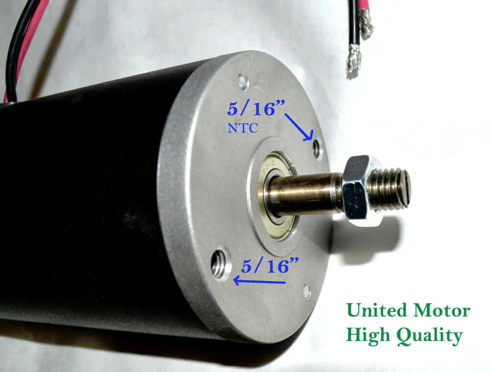 1 hp dc 24 volt permanent magnet electric motor for Dc permanent magnet motor