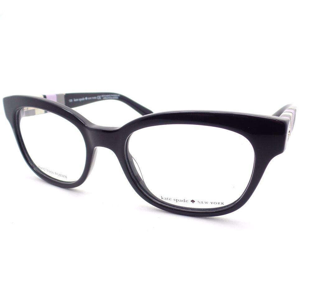 Eyeglass Frame New : Kate Spade Andra W91 Black New Eyeglass Frame eBay