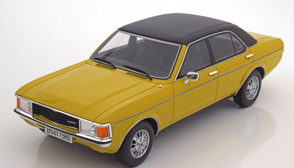 1975 Ford Granada Mki 2 3 Ls Yellow W Black Roof By Bos