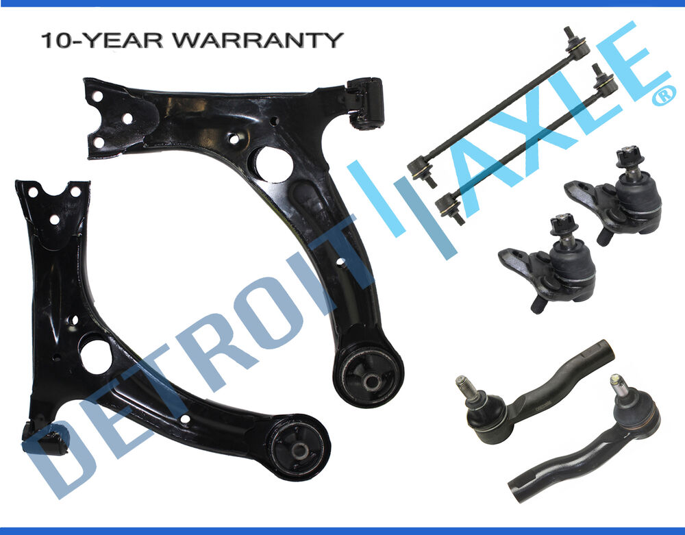 ECCPP 6pc Complete Ball Joint Front Suspension Kit for 2000-2005 Toyota Celica
