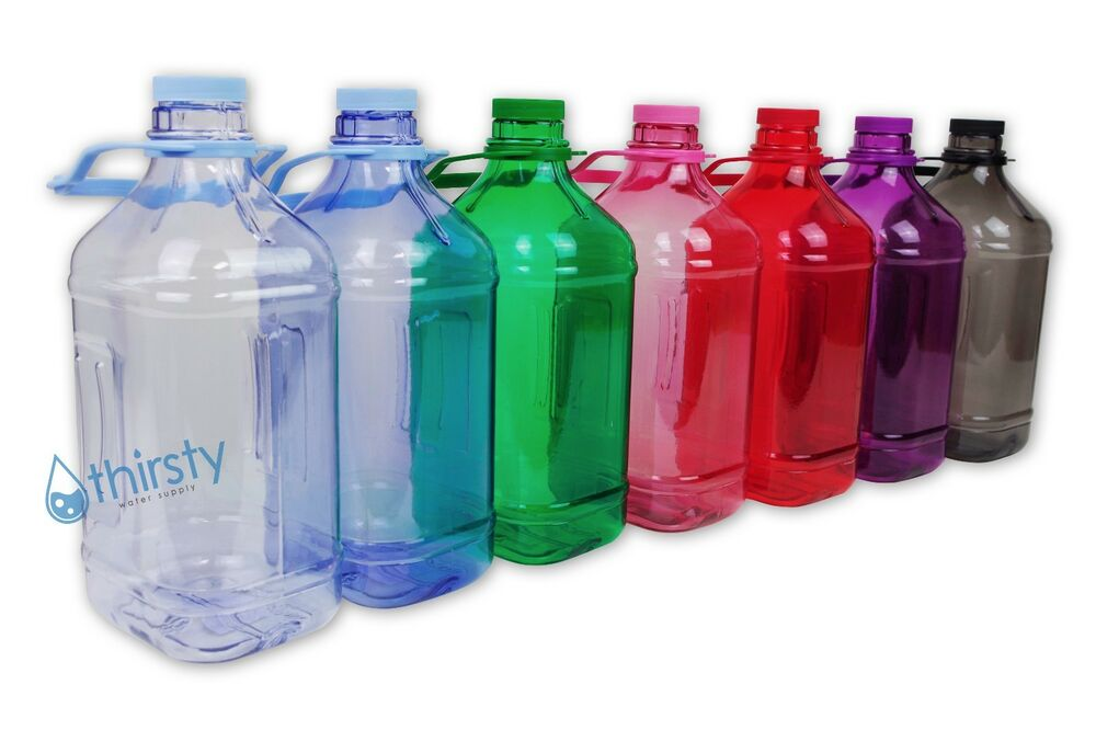 Half Gallon Water Bottle Handle Drinking Gym Canteen Jug