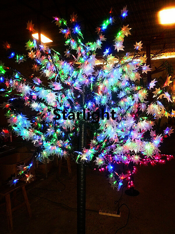 5ft led maple tree light outdoor wedding christmas tree rgb without change color ebay. Black Bedroom Furniture Sets. Home Design Ideas