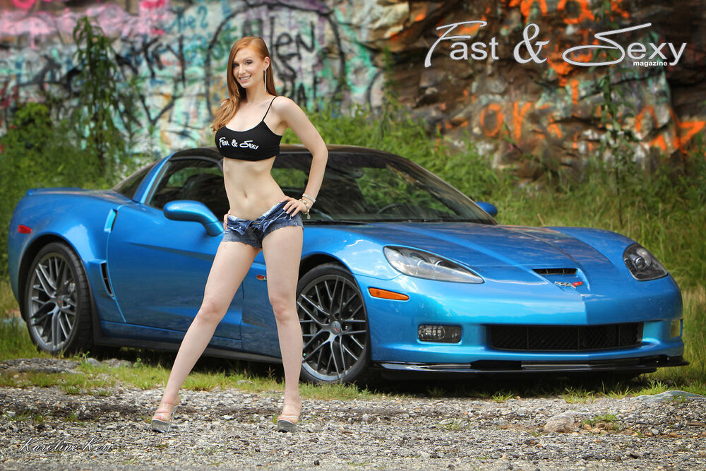 Corvette Zo7 >> C6 Corvette Z06 Z07 Fast & Sexy Poster - Hot Girls and Sports Cars | eBay