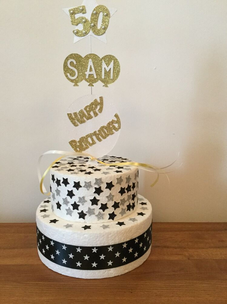 Diy Happy Birthday Cake Toppers