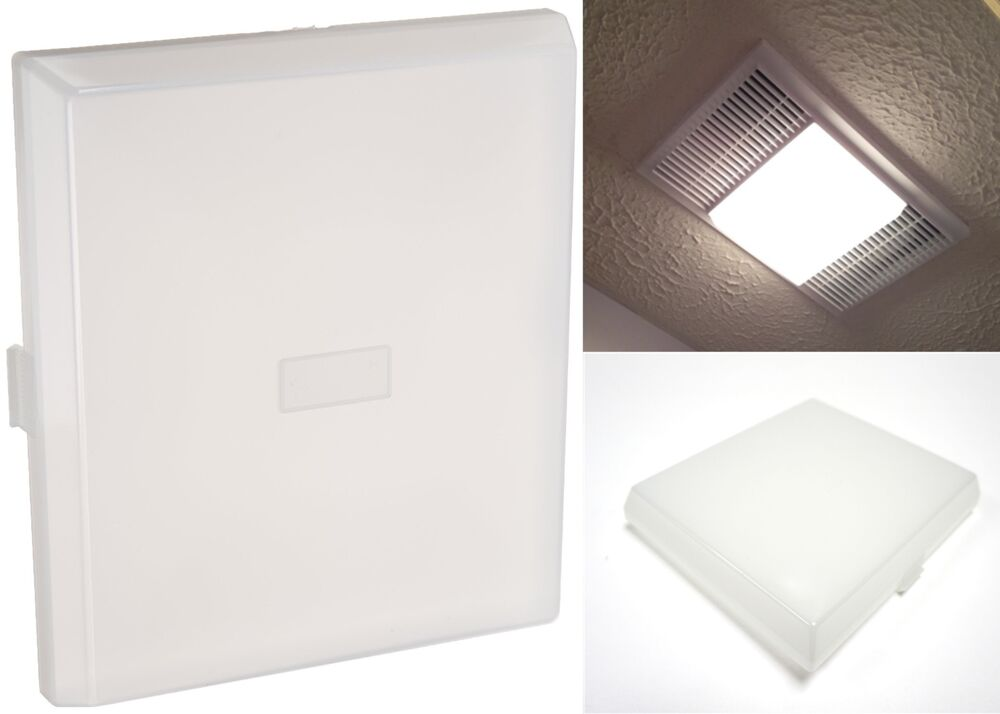 Nutone s97011813 ventilation fan light lens replacement for 9 bathroom fan cover