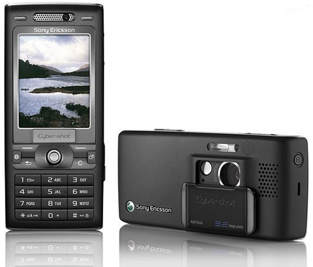 sony ericsson cyber shot k800i velvet black unlocked mobile phone free ship ebay. Black Bedroom Furniture Sets. Home Design Ideas