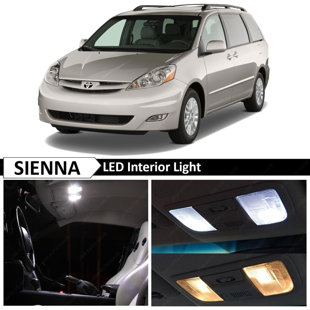 19x White Interior Led Lights Package Kit For 2004 2010