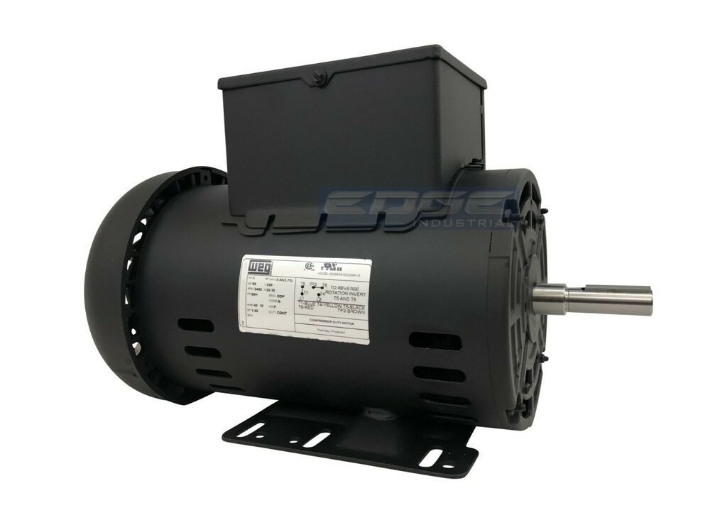 New 5 Hp Electric Motor Compressor Replaces Campbell