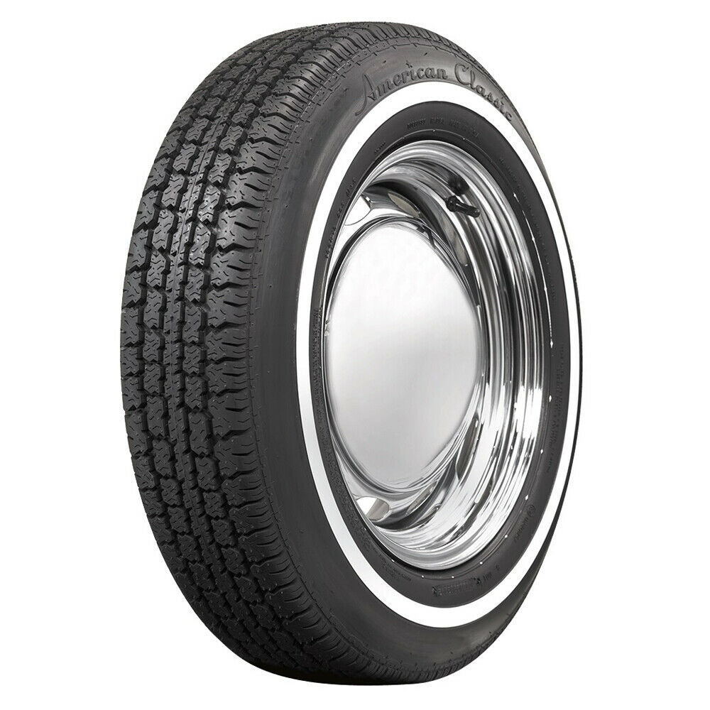American classic narrow whitewall 165r15 3 4 quantity for American classic 3