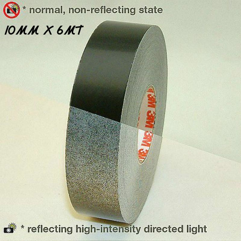 3m 580 scotchlite reflective vinyl tape stripe black color 10mm x 6mt car truck ebay. Black Bedroom Furniture Sets. Home Design Ideas