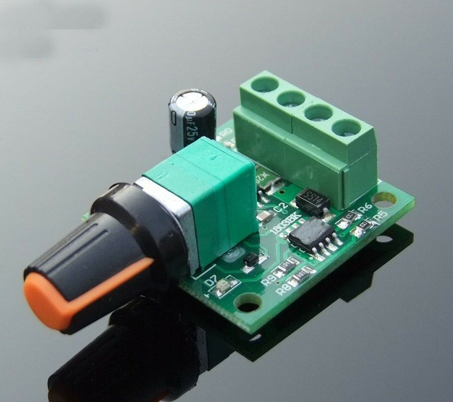 3 5v 6v 12v 2a dc motor governor pwm speed control for Dc motor light led
