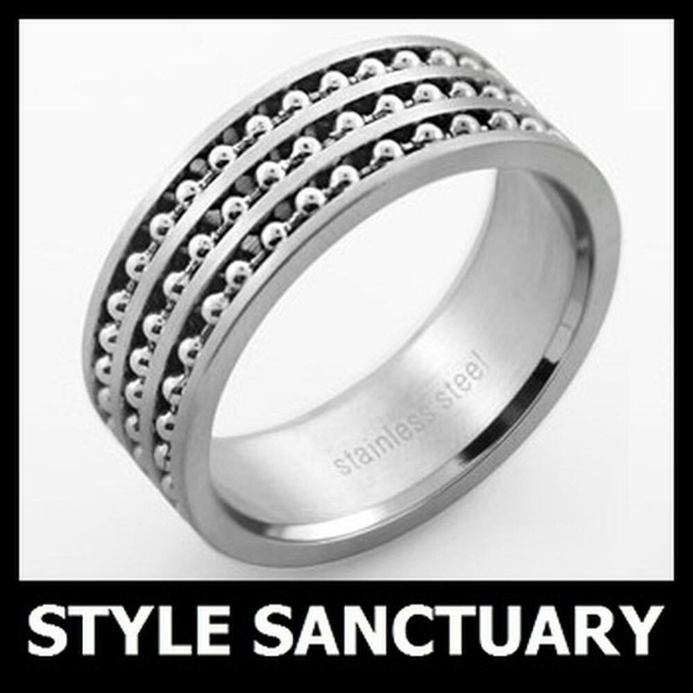 cheap men wedding rings stainless steel ring mens womens wedding engagement 2619
