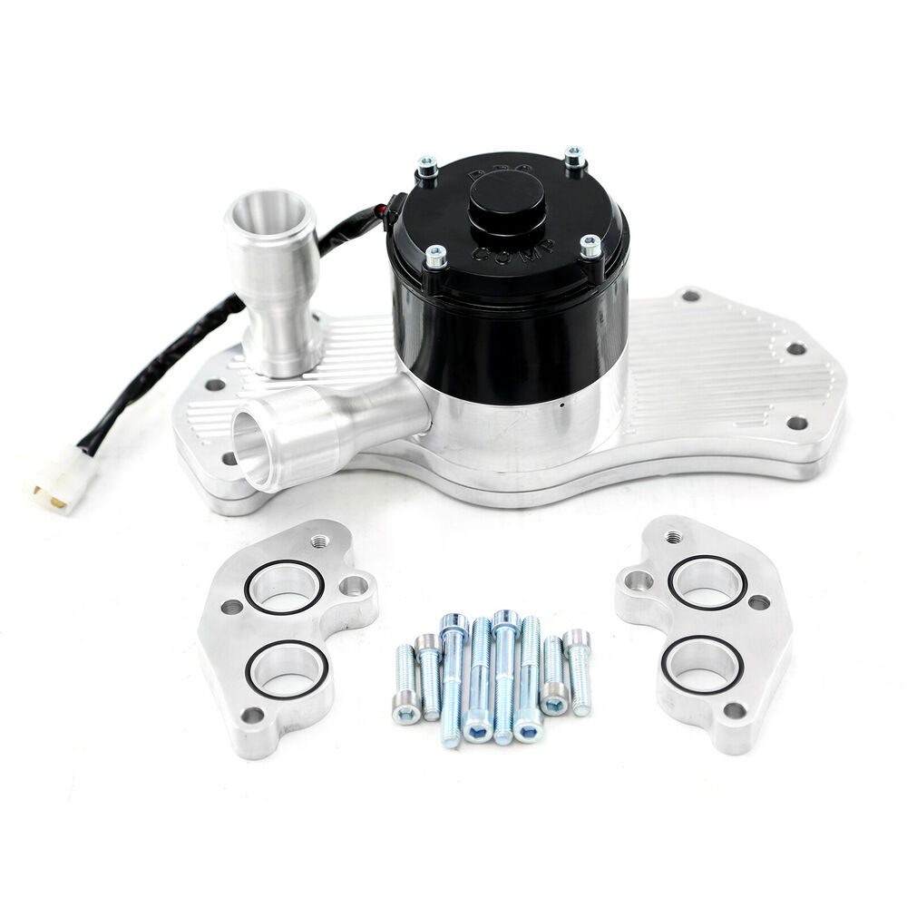 Chevy Ls1 40  Gpm Slimline Electric Water Pump Polished