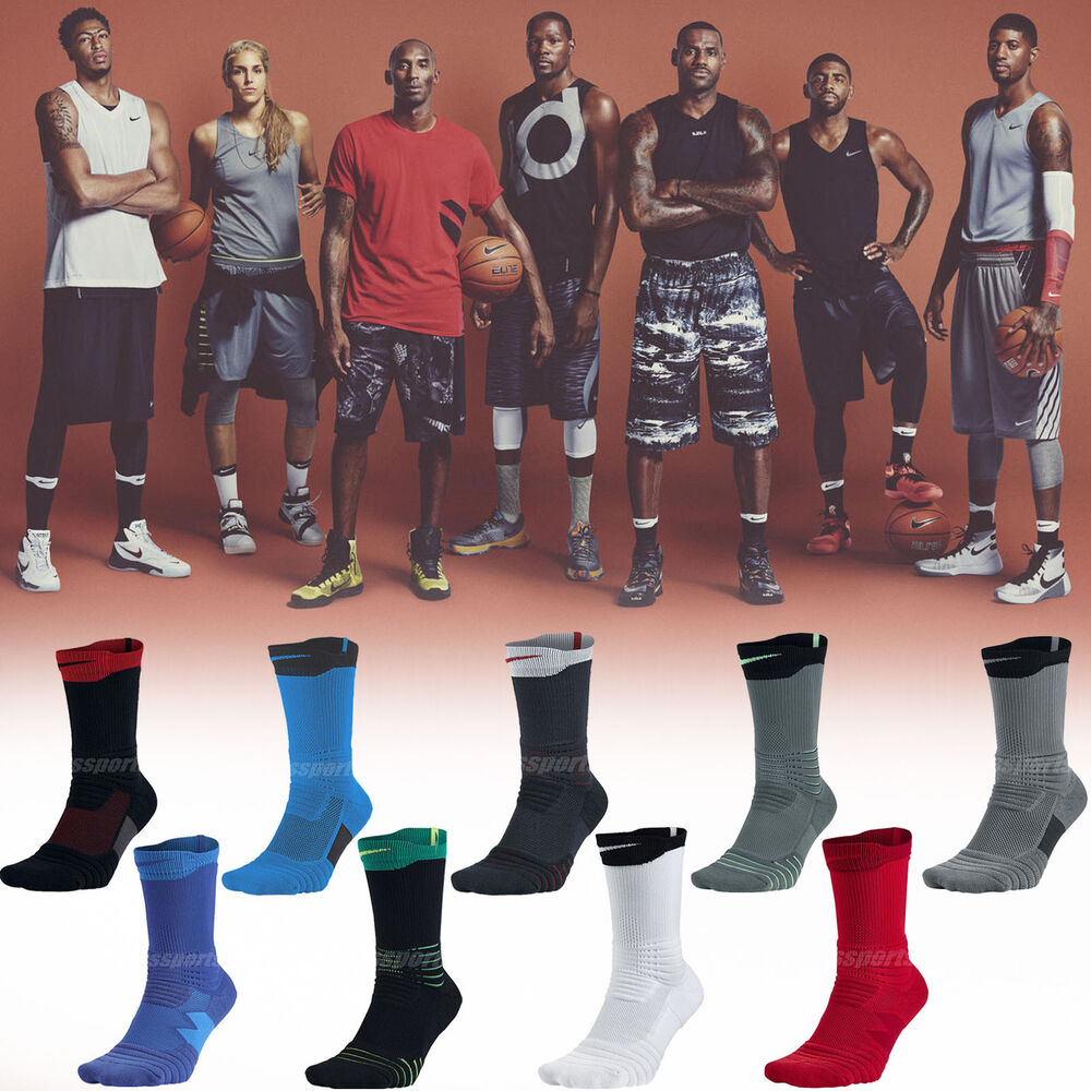 22cd0c9664c Details about Nike Basketball Elite Versatility Team USA NBA Mens Cushioned  Crew Socks Pick1