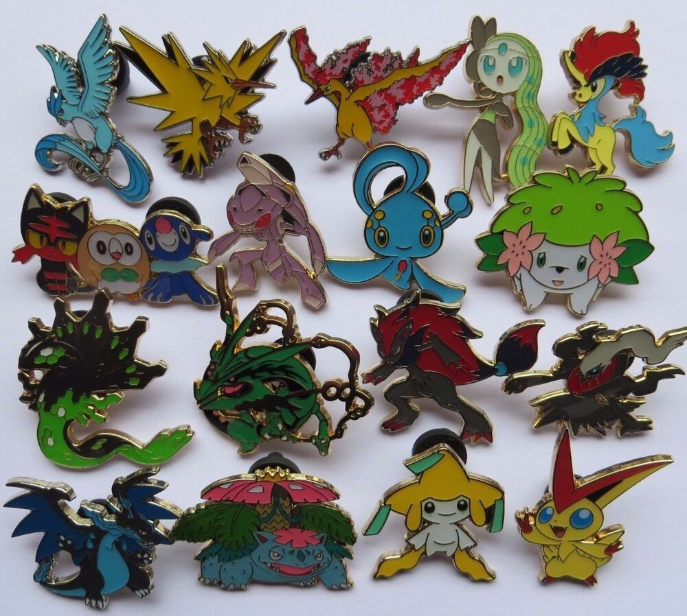 Pin On Pinimg: POKEMON Pins/Badges (Select Your Choice)