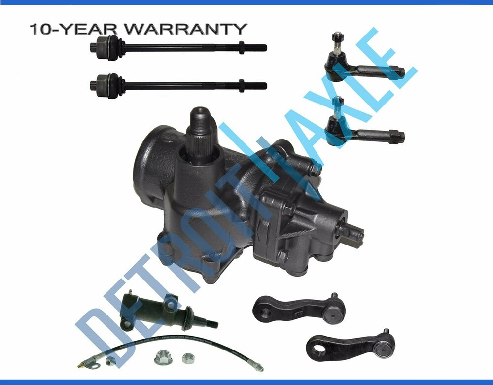 Gear Box Suspension : Pc complete front suspension power steering gearbox