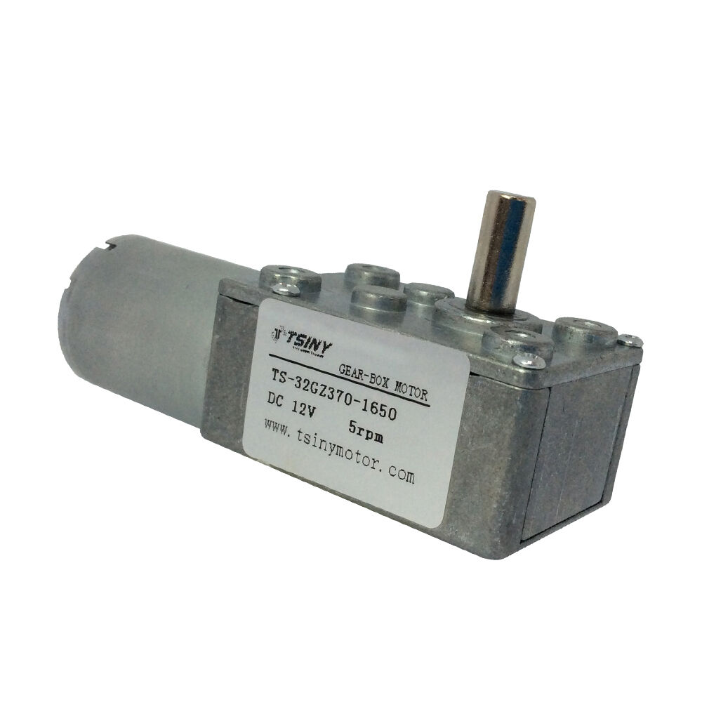 12v 5rpm dc worm reduction geared motor ultra low speed for 12v dc motor 1hp