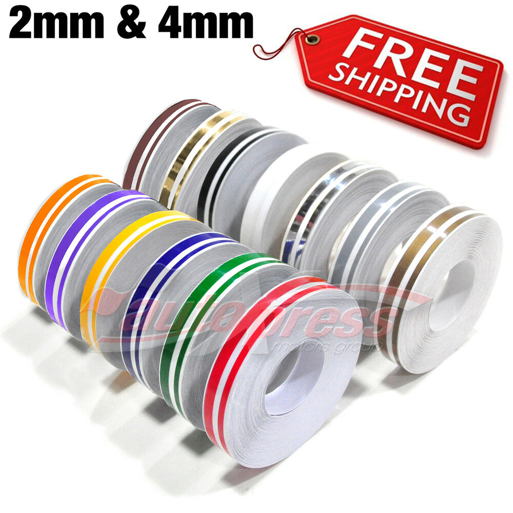 12mm 0 5 Quot Pinstripe Pinstriping Pin Stripe Decals Tape