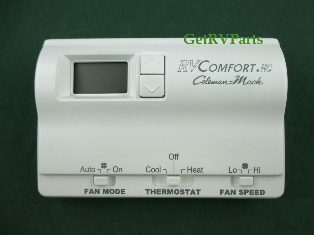 Coleman Mach | 8330-3362 | RV AC Air Conditioner Digital Wall Thermostat White : coleman mach thermostat wiring - yogabreezes.com