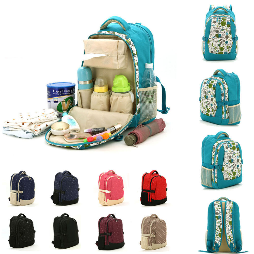new baby pad diaper nappy changing mother mummy backpack shoulder bag handbag ebay. Black Bedroom Furniture Sets. Home Design Ideas