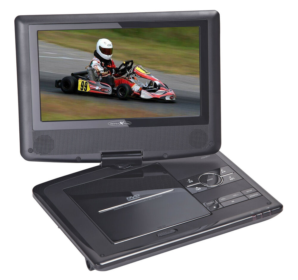 reflexion dvd101x sp portable dvd player mit dvb t tuner. Black Bedroom Furniture Sets. Home Design Ideas