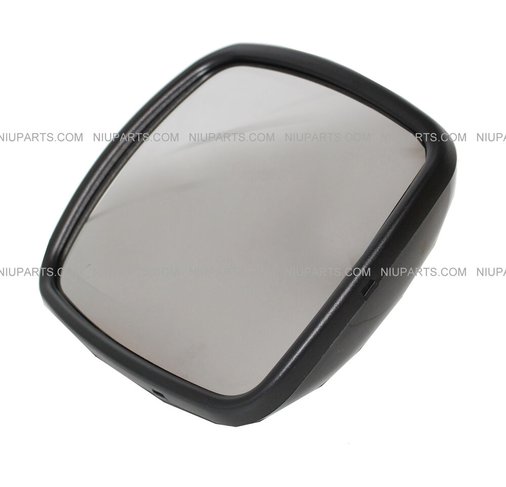 freightliner m2 columbia rear view wide angle mirror black. Black Bedroom Furniture Sets. Home Design Ideas