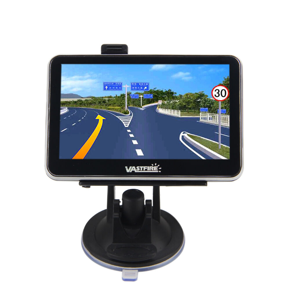 Gps Navigation For Cars : Quot inch gps unit for auto car truck van navigation gb