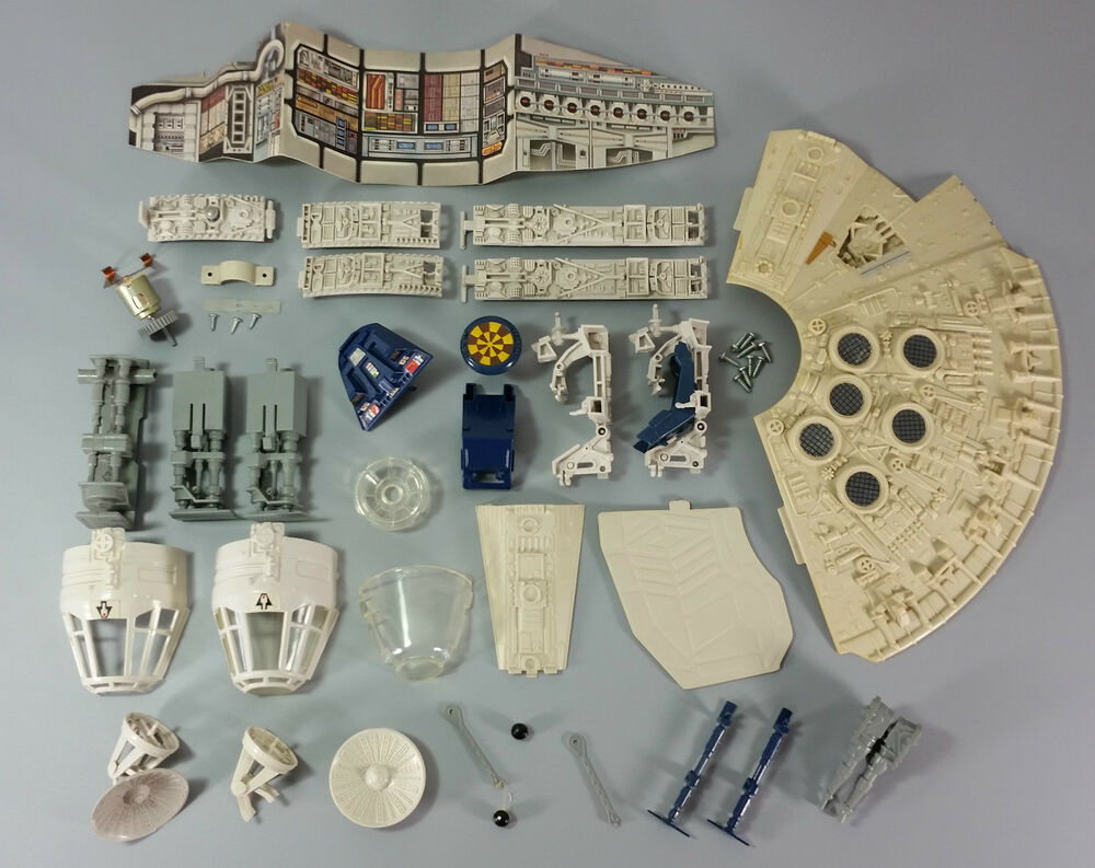 Vintage Star Wars Millennium Falcon Parts - Many To Choose ...
