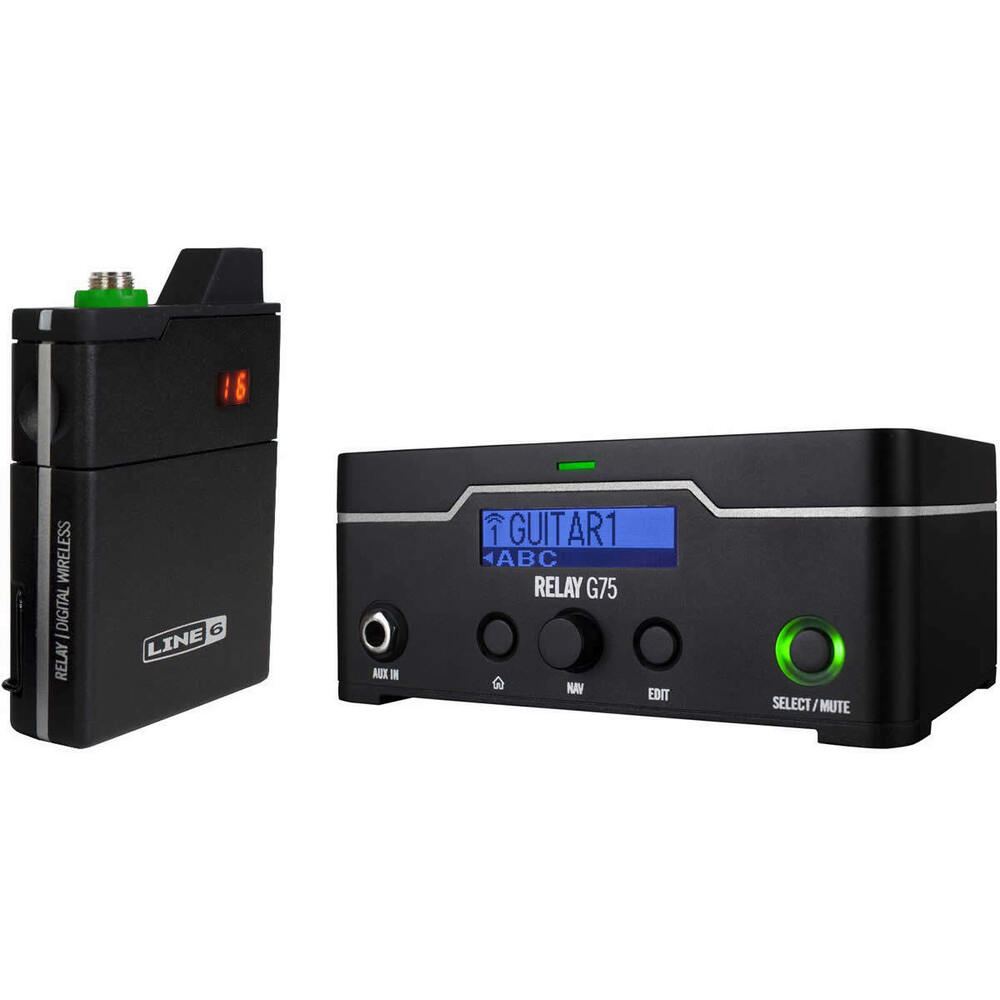 line 6 relay g75 guitar wireless system brand new relay g 75 line6 ebay. Black Bedroom Furniture Sets. Home Design Ideas