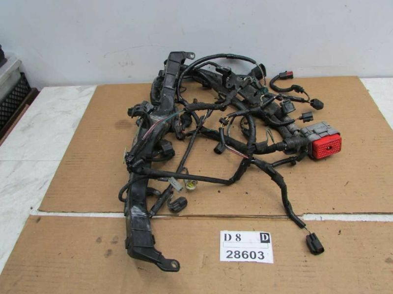 2002 02 lincoln ls engine motor bay wire wiring harness cable